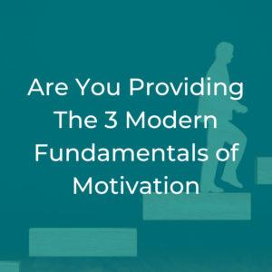 Motivation Fundamentals